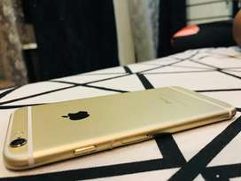 I phone 6 brand new condition Gold