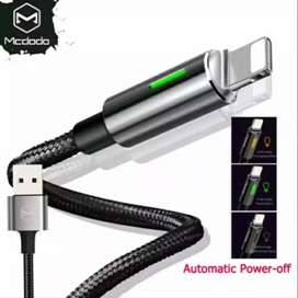 Kabel charger macdodo auto disconect iphone dan type c