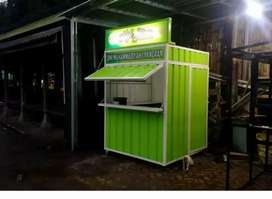 Container Booth / Stand Untuk usaha