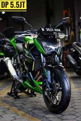 Kawasaki Z250 Green 2014, N Malang-Pajak 5 thnan Baru, Mustika Motor