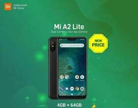 Mi A2 Lite (4/64gb) Black Grns 1th bs Kredit 15mnt DP 500rb-an Free 1x