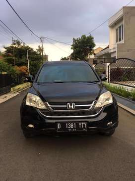 Kredit murah!!! Crv 2,4 matic 2010 hitam like new!!