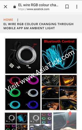 color changing light for car and more car interior accessories