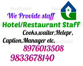 Available Staff, For Hotel, Restaurant, Fast Food, Cooks, Waiter,Helpe