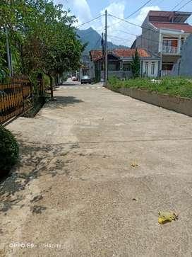 Tanah siap bangun kontur tanah flat di manglayang regency, 800 rb/m²
