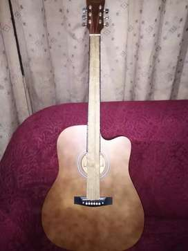Acoustic guitar available