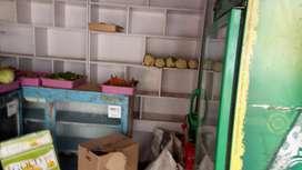 Wooden shelf kiruna store