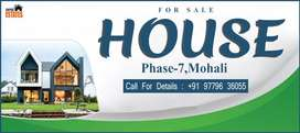 1 Kanal House Available For Sale in Mohali Phase-7