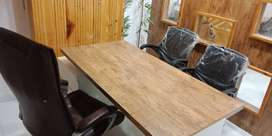 unused fully furnished office for rent
