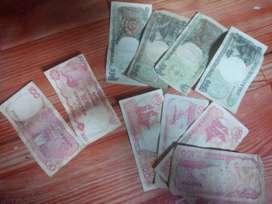 Uang kuno Rp 100 dan Rp 500  thn 1992
