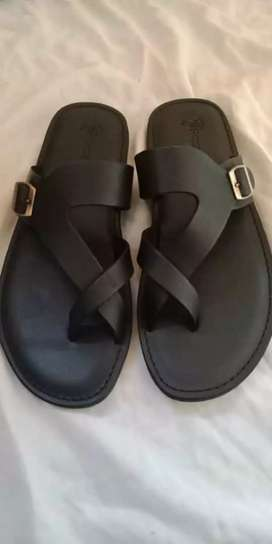 Stock Original Leather Chappals and Sandals