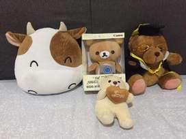 4 Boneka lucu mainan anak murah