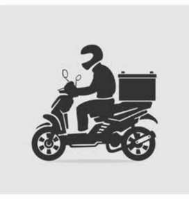 Courier biker