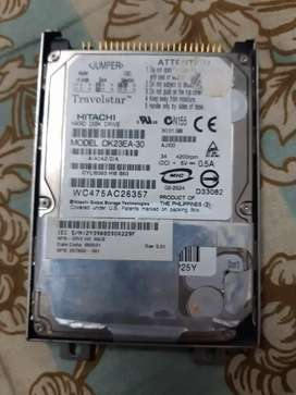 Hard  disk  drive  of laptop