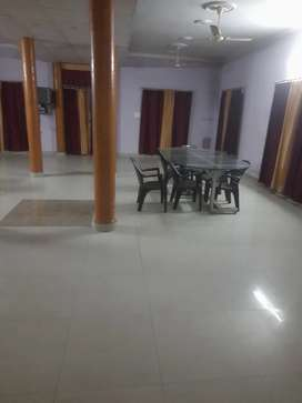 12 room 12 attached washrooms 1 big 1500sq ft hall hostel balliwala