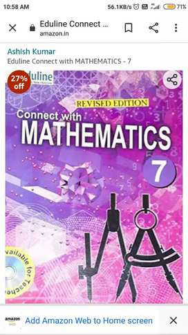 Class 7 connect with mathematics