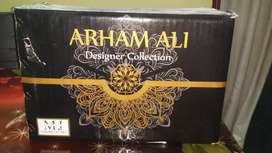ARHAM ALI MOOSAJEE 3 PC LADIES  SIUTES WHOLESALE