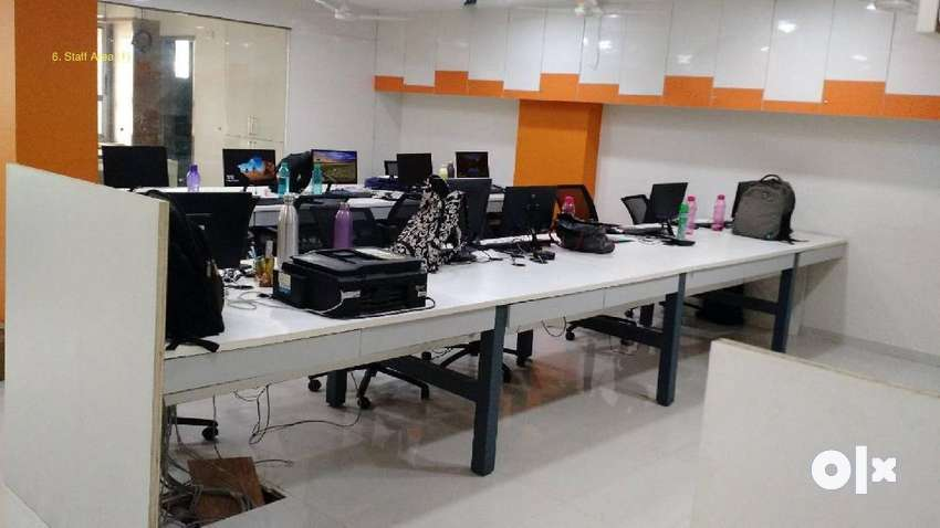 Fully furnished office available for rent at Vijay nagar 0
