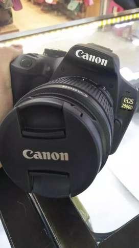 Kamera CANON EOS2000D gratis 1x cicilan