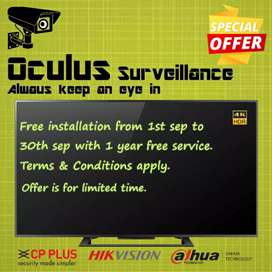 Contact for CCTV installation in cheap and best rate.