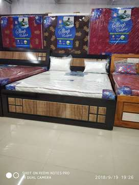 Brand new king size bed with mattress at factory price