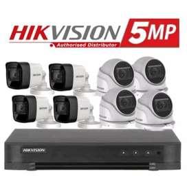 Paket CCTV 2Mp Terima jadi, tidak ribet, harga memukauu