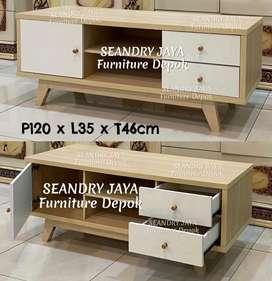 SEANDRY JAYA Furniture Depok/Rak TV minimalis murah/bufet/meja/promo