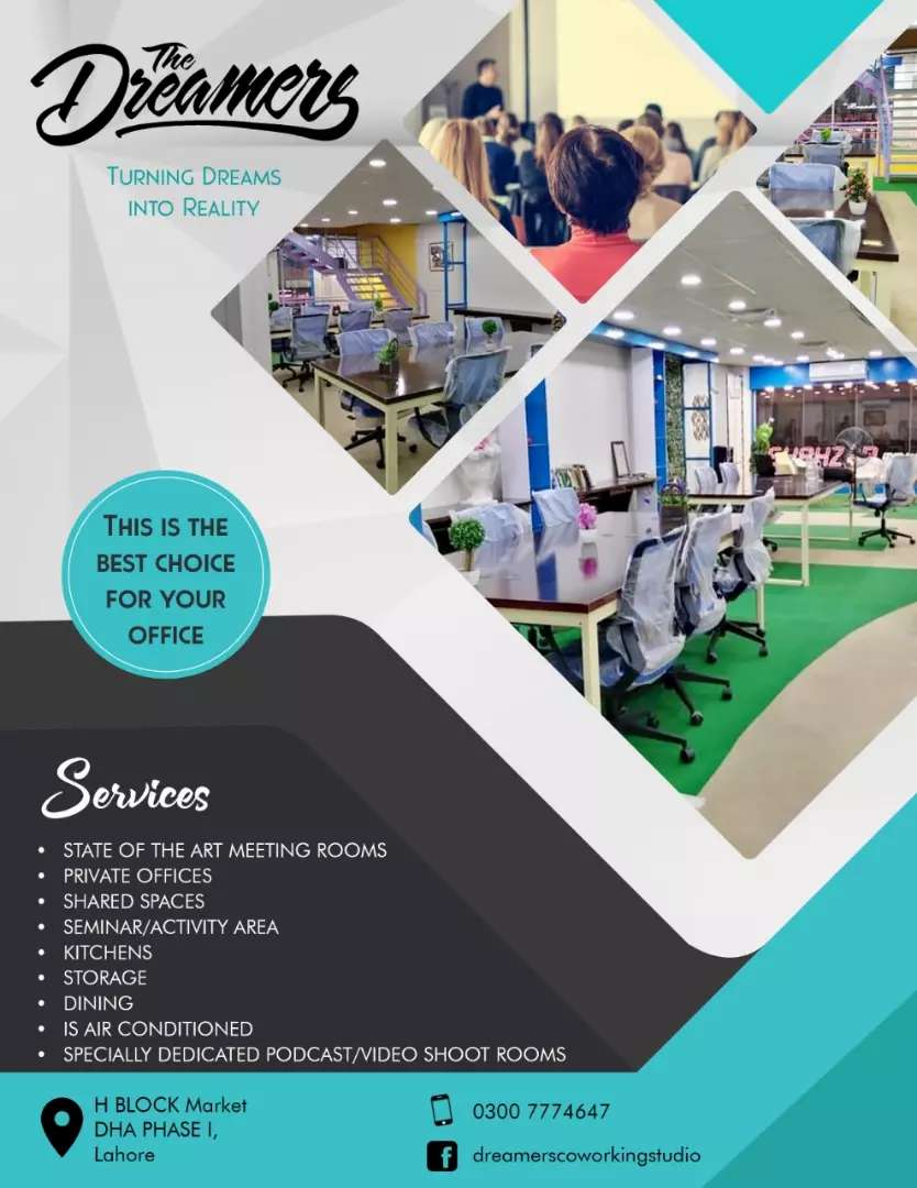 Coworking Space,Shared Office Space forStartups,Freelancer&callcentre 0