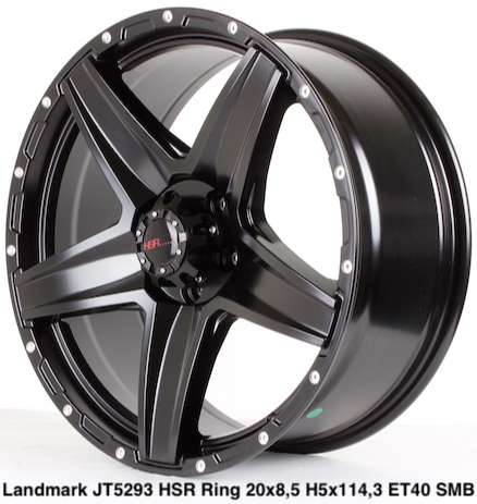 LANDMARK JT5293 HSR R20X85 H5X114,3 ET40 SMB/MR 0