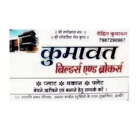 Indore ki samast colony mai plots,house,row house available hai