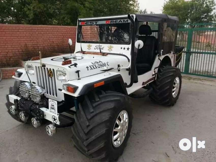 Mahindera diesal jeep 0
