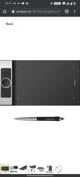 Xp pen deco pro graphics tablet under warranty never used