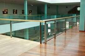Dimas stel @6024 balkon stainlis kaca sepex elegan