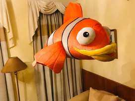 Nemo Stuffed Fish