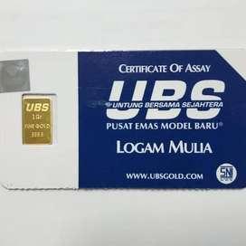 jual emas UBS 1gram