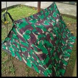 Tenda loreng perorangan