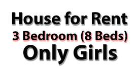 Rooms for Girls/College Girls