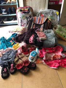 Dijual borongan perlengkapan bayi & anak 75 rb