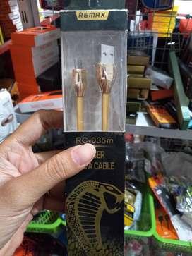Kabel data charger cas remax cobra mikro usb kabel (sinar kita)