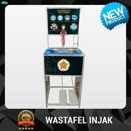 Wastafel Injak Portable Logo Universitas