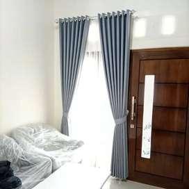 Korden Tirai Hordeng Gorden Curtain Blinds Gordyn Wallpaper 5.8je8