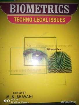 Biometrics techno legal issues