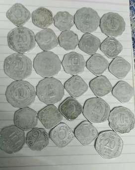 Aluminium coins