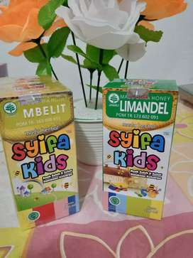 COD Syifa kids herbal untuk amandel limandel kios madu kurma zaitun