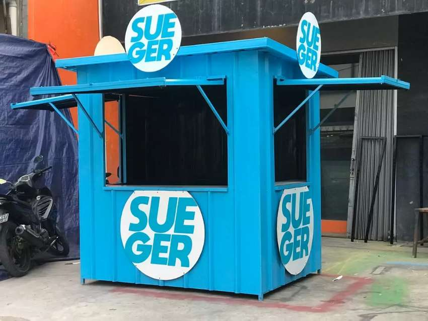 STAND BOOTH CONTAINER MURAH / BOOTH SEMI CONTAINER USAHA FRENCHISE 0