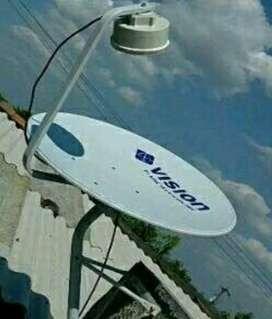 Pasang Indovision Mnc Vision tv parabola tv menghibur dan mendidik