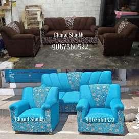 Victorian Style 3+1+1 New Sofa Set