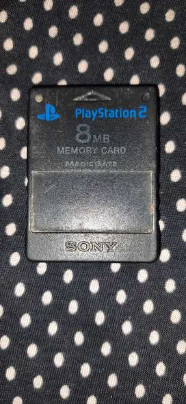 PS2 memory card