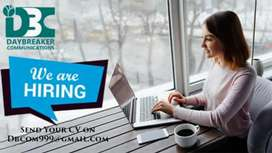 Boys and girls urgently required for call center