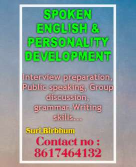 Spoken English and Personality Development